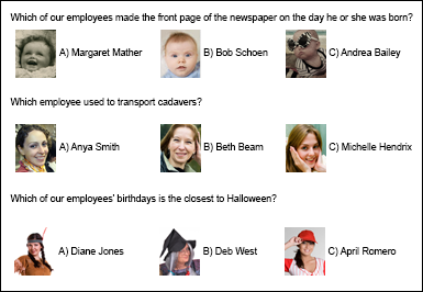 Administrative Professionals' Day Quiz