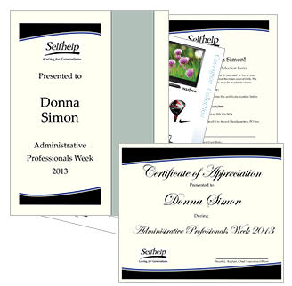 Administrative Professionals' Award Package