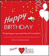 HAVI Birthday Email Blast