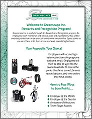 Greenscape Welcome Flyer