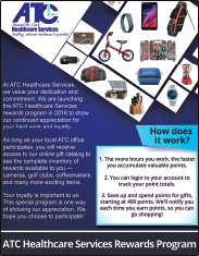 ATC Program Instructional Flyer