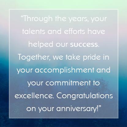 Employee Appreciation Message #8