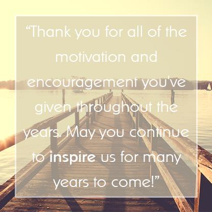 Employee Appreciation Message #12