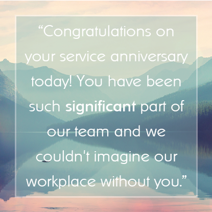 Employee Appreciation Message #4