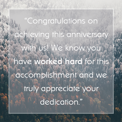 Employee Appreciation Message #2