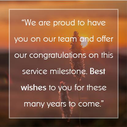 Employee Appreciation Message #9